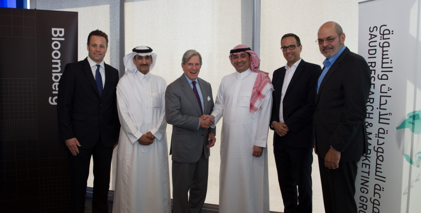 Bloomberg Asharq will also have a major presence in Abu Dhabi, Riyadh, and Cairo, with studios in each city