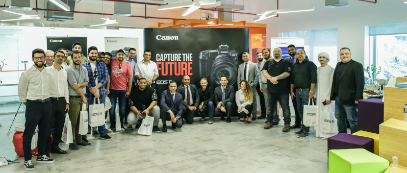 Canon EOS R, Canon, Mirrorless camera, Full frame, Photography, Camera manufacturer, Dubai launch, Product launch, Middle east product launch