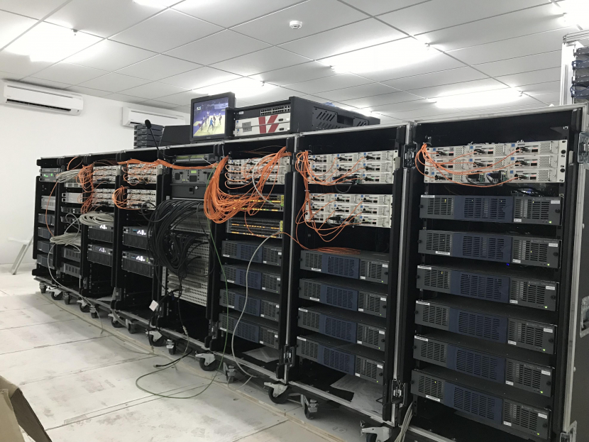 Lawo, IP based distribution, IP broadcast, Signal processing, Virtual production, Virtualisation, V_matrix, Live production, Remote broadcast, Broadcast control room, Live sports broadcast, Software defined production, ENG