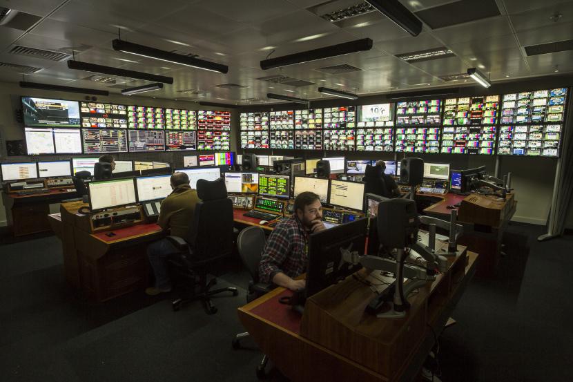 SIS LIVE Control Room