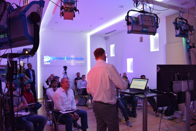 Workshops, UBMS, UBMS Training Academy, ARRI, ARRI Stellar, Led lighting, Production lighting, ARRI Skypanel