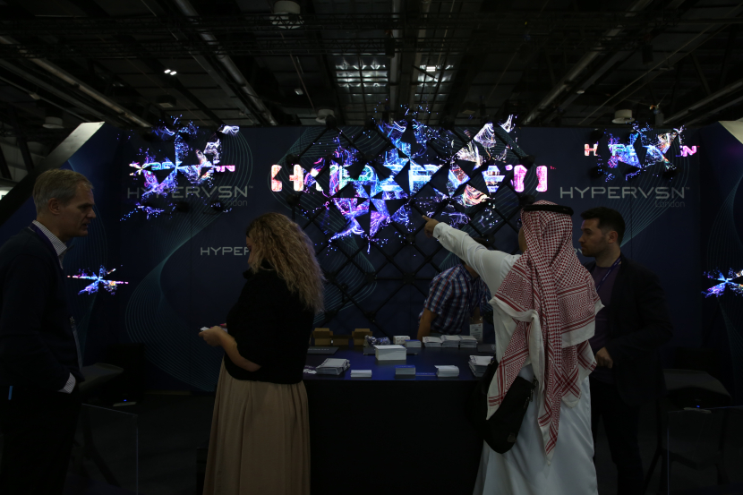 3D content, Holographic, Interactive holographic displays, GITEX