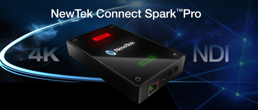 NewTek Connect Spark Pro video converter