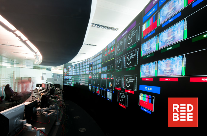 Red Bee Media has created a completely IP and Software Based Playout Deployment for uncompressed video streams.