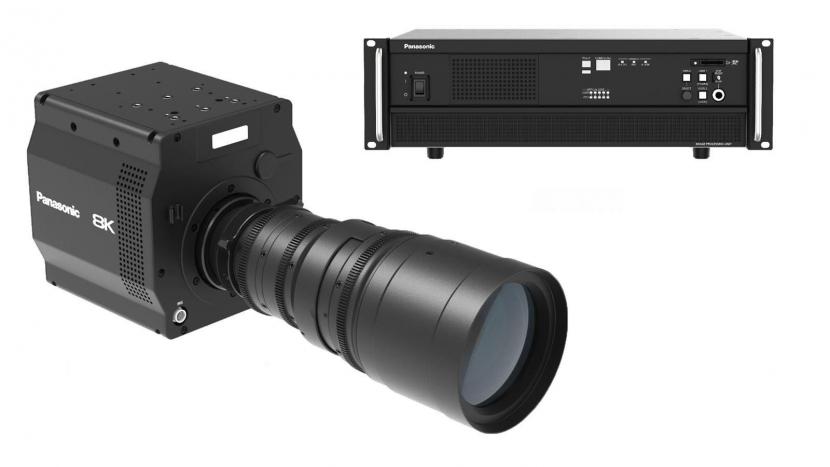 8K camera, Camera manufacturer, Broadcast cameras, Sensor, Organic sensor, Image sensor, IMAGING SOLUTIONS, Panasonic, InterBee
