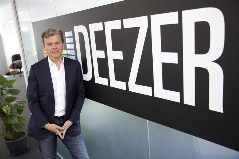 Hans-Holger Albrecht , CEO of Deezer