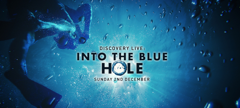 Discovery LIVE: Into The Blue Hole airs on December 2