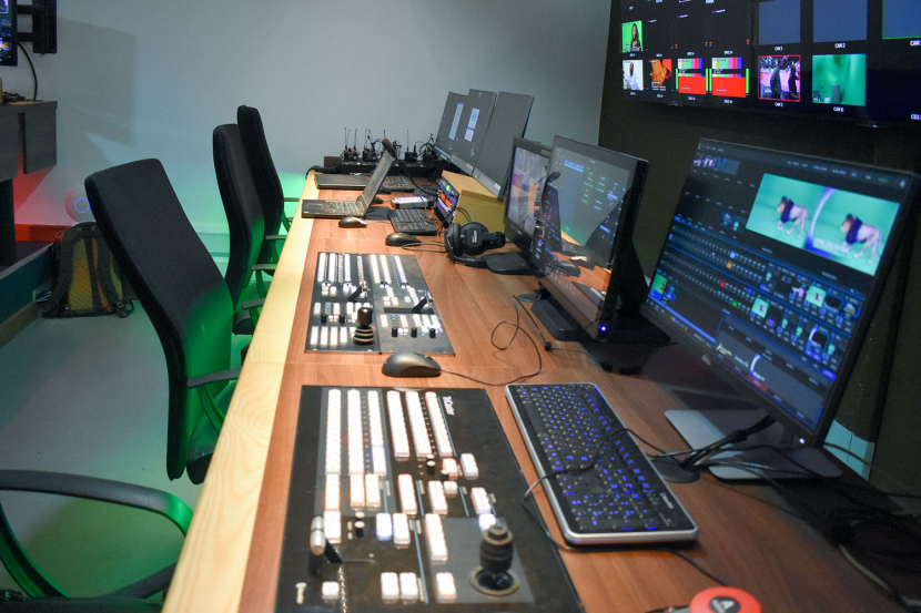 Broadcast solutions, Kenya, SwitchTV, Systems integration, Studio build, HD TV, Newsroom, Post-production, TV studios, Playout, Sony, ARRI, Grass Valley, Ross video, Interplay, Playbox, Studio technology, Broadcast workflow
