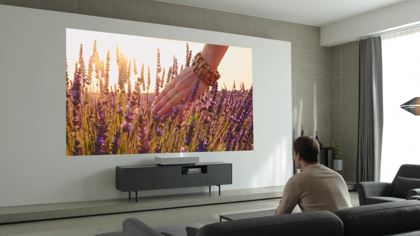 LG Electronics, 4k projector, Laser projection, CES 2019, Home cinema projectors