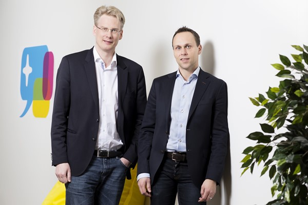 Accedo's founders, Michael Lantz and Fredrik Andersson