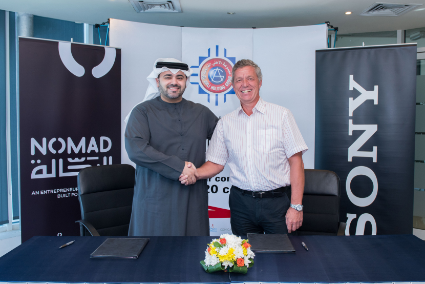 The MoU was signed by Mohammed Khammas, CEO of Ahli Holding Group & NOMAD, and Rob Sherman, Managing Director at Sony Professional Solutions MEA.