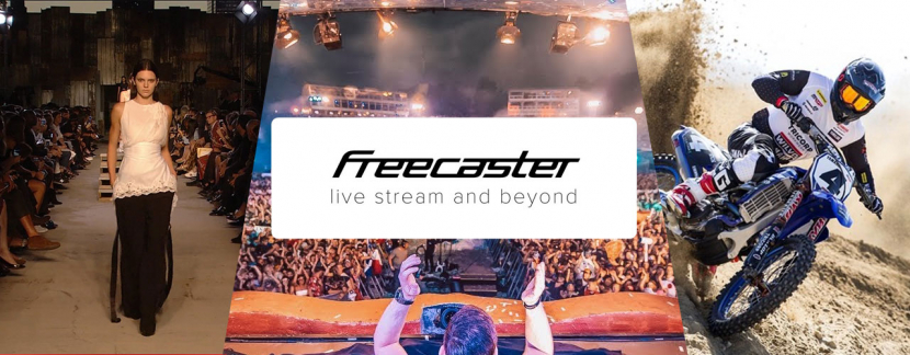 Among Freecaster's customers are the Belgian Public Broadcaster RTBF, leading fashion houses (LVMH group and others), music festivals (Tomorrowland), and sports championships (FIM Motocross World Championship - MXGP).
