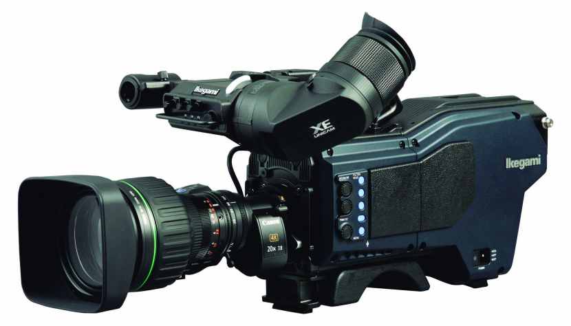 Ikegami UHK-430 4K-native IP-ready camera system