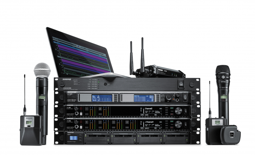 Shure Axient Digital ADX series wireless transmitters