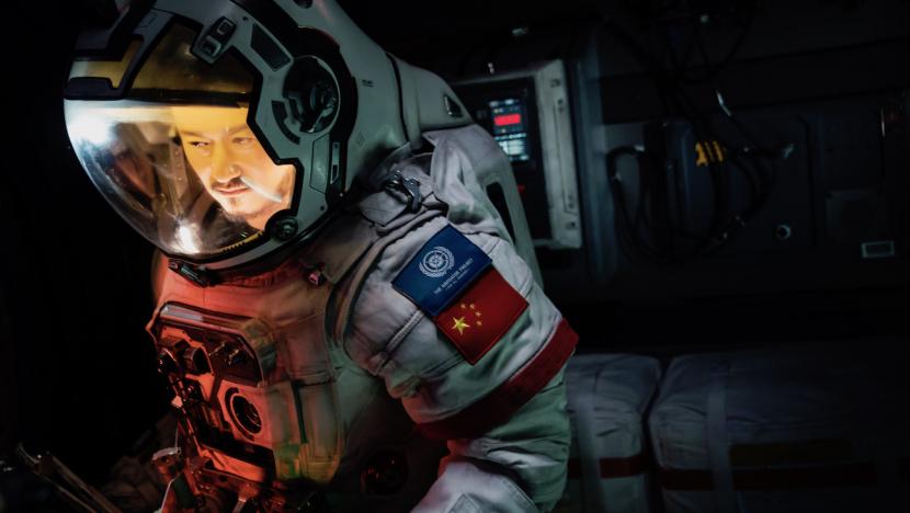 Wu Jing in 'The Wandering Earth'