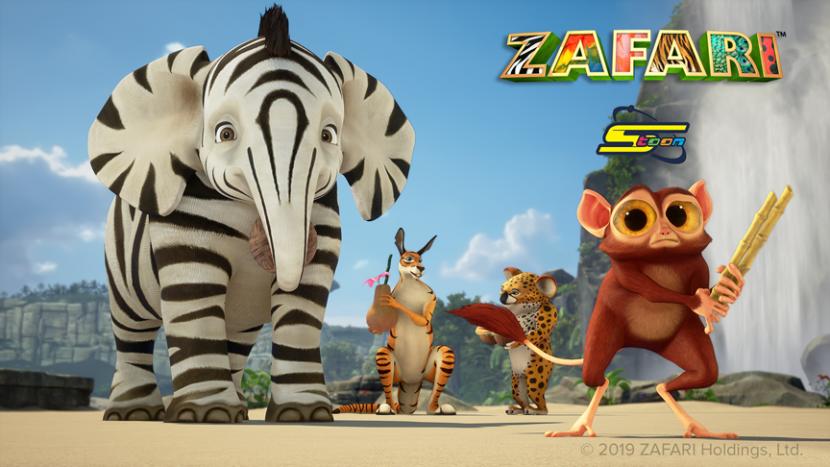 Zafari is running on Spacetoon TV