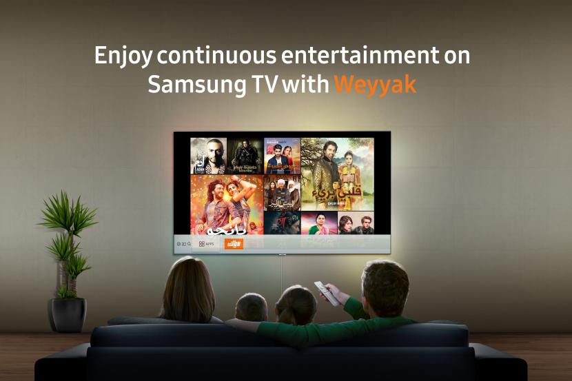 Zee entertainment, Weyyak, Samsung, Smart TV apps, Video on demand, Svod, Arabic streaming service, Content partnership, Middle east TV market