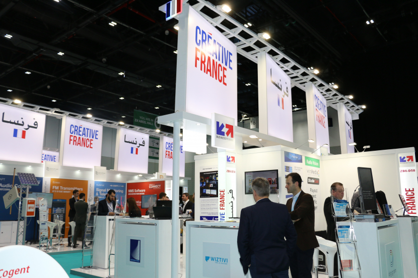 France, CABSAT 2019, Pavilion, CABSAT, Broadcast Middle East, Post-production, Content protection