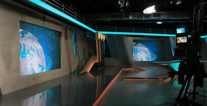 Syria TV studios in Istanbul