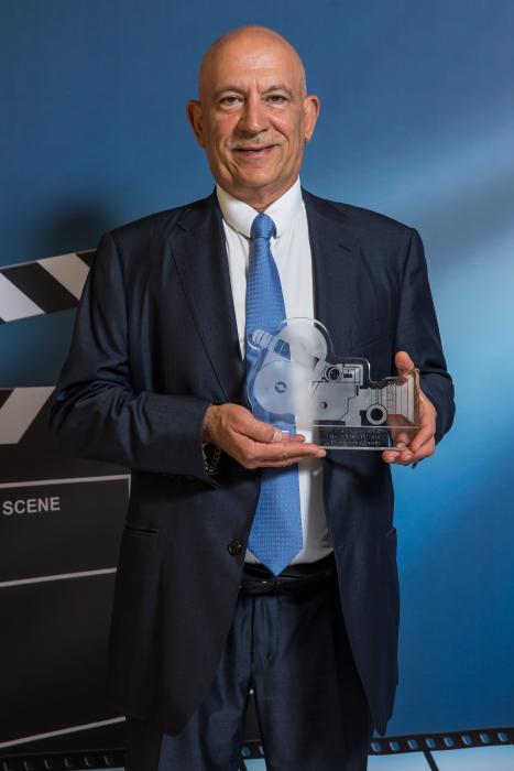 Digital Studio Awards 2019: BEST LIVE ACTION CAPTURE award winner for AFC ASIAN CUP 2019 coverage - 7 Production CEO Hadi Ghanem