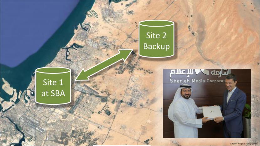 Sharjah Broadcasting Authority, Sharjah Media Corporation, NOA, Digital archiving, Archiving, Storage technology, Asset management, Digital asset management, Media asset management, Disaster recovery, UAE, Digitization