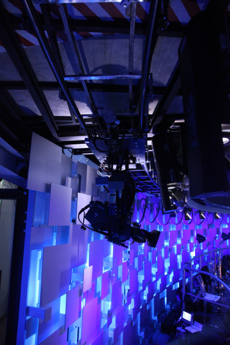 In-studio graphics, Camera robotics, Motion tracking, Vinten, Vizrt, Dolly, Tecnopoint, AR/VR, Curved, Augmented reality graphics, Broadcast graphics, Camera tracking, Robotics, Broadcast studios, Camera support