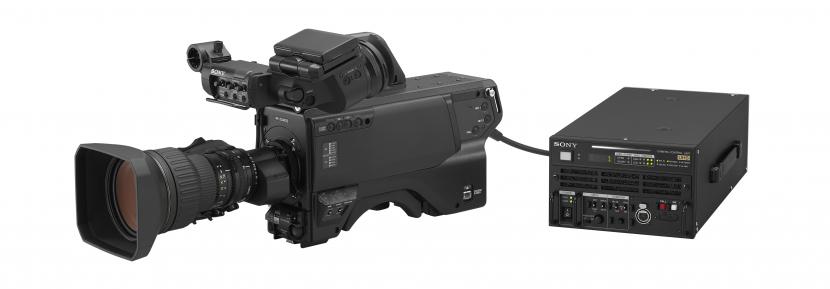 HDC-5500 camera with HDCU-5500 camera control unit