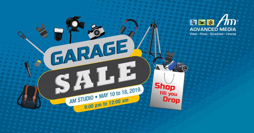 Garage sale, Advance media, AM Studio, Cinematography
