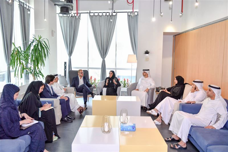 The meeting of the Dubai Future Media Council was chaired by Mona Al Marri, director general of the Government of Dubai Media Office