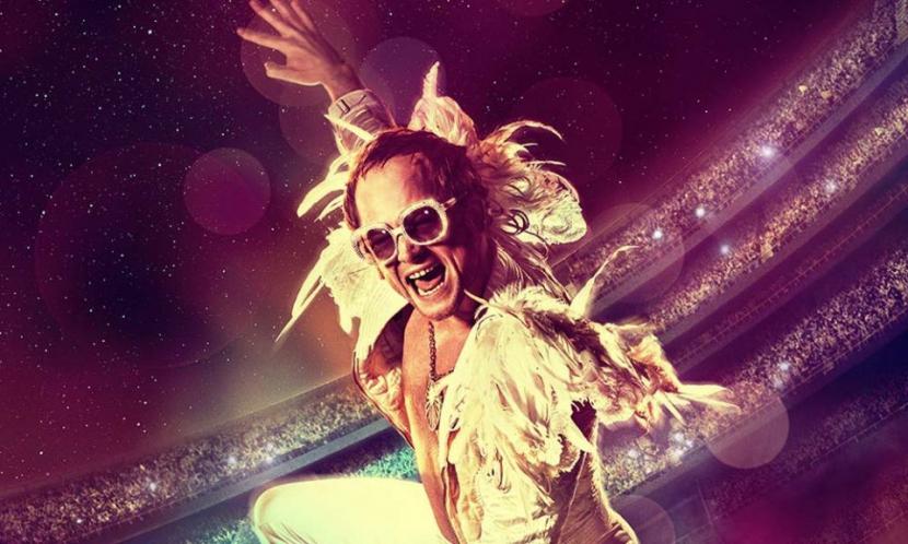 Rocketman is set to Elton John's hits and performed by Taron Egerton.