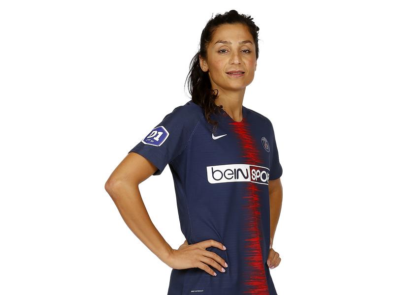 Nadim plays for Paris Saint-Germain and the Danish national team