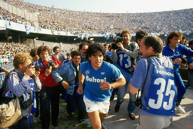 Still from the documentary Diego Maradona