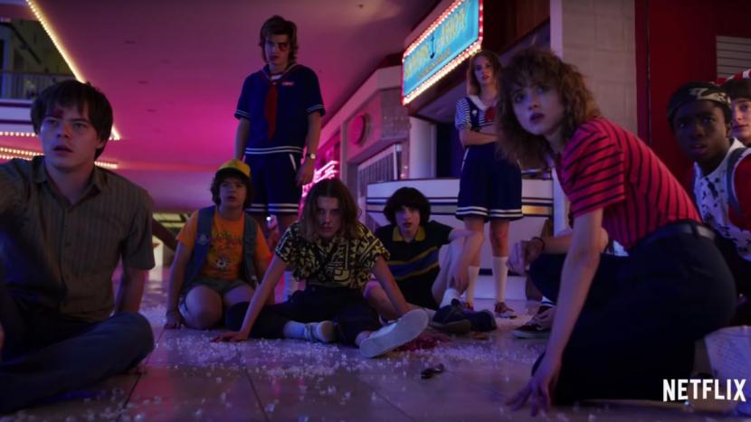 Netflix, Stranger things 3, Teen drama, Series, Programming