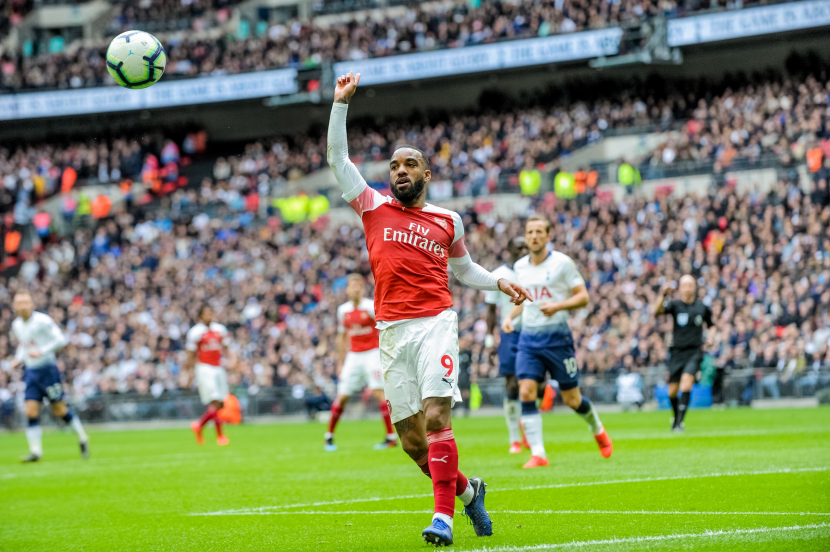 Arsenal's Alex Lacazette during a match at the Emirates Stadium [Representation Image].