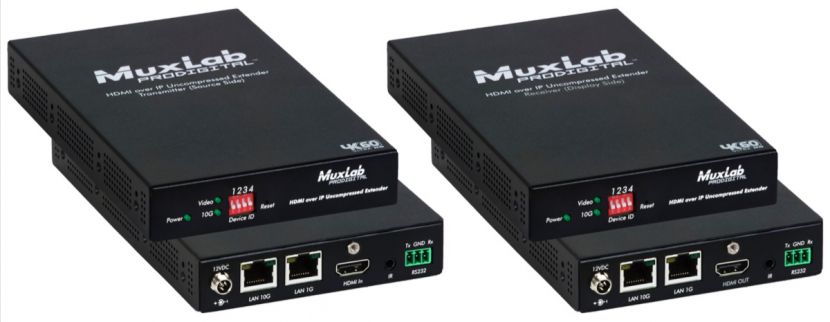MuxLab specialises in manufacturing professional AV and broadcast equipment.