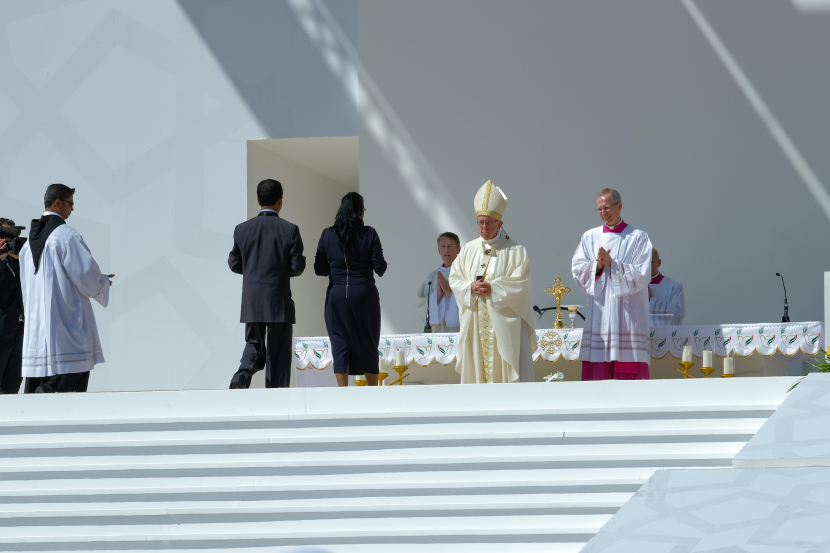 The Papal mass was held in Abu Dhabi in early 2019.