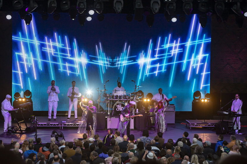 In pictures: Colour Sound rentals at UK's Hampton Court Palace