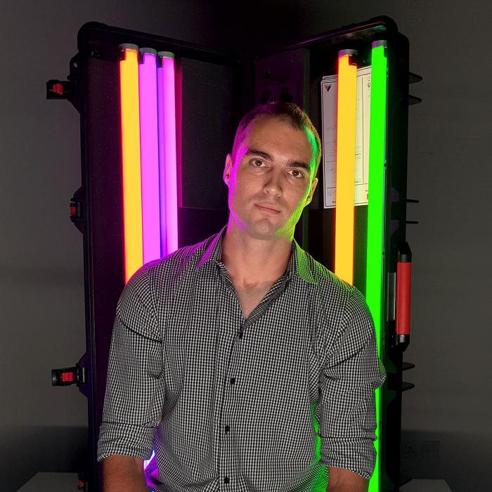 Darren Caithness, lighting business manager, NMK Electronics.