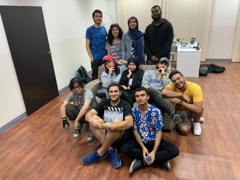 15 students from MDX Studios (Middlesex University in Dubai) are adopting a Stephen King book into a short film.
