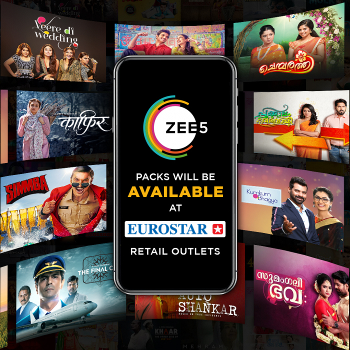 Zee 5 content to be available offline via Eurostar.
