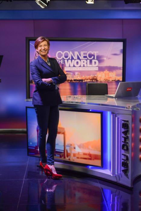 CNN Abu Dhabi, Becky Anderson CNN