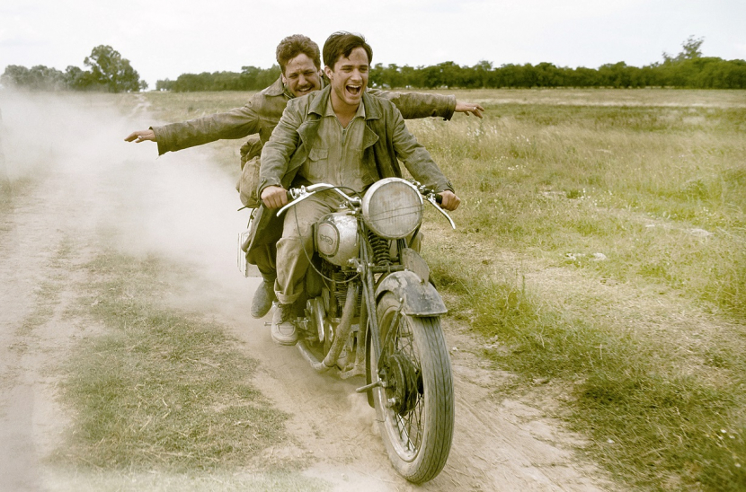 The Motorcycle Diaries, starring a young Gael Garcia Bernal.