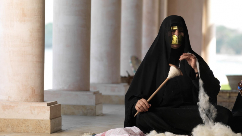 In pictures: Emirati short film on Al Ghadeer Crafts