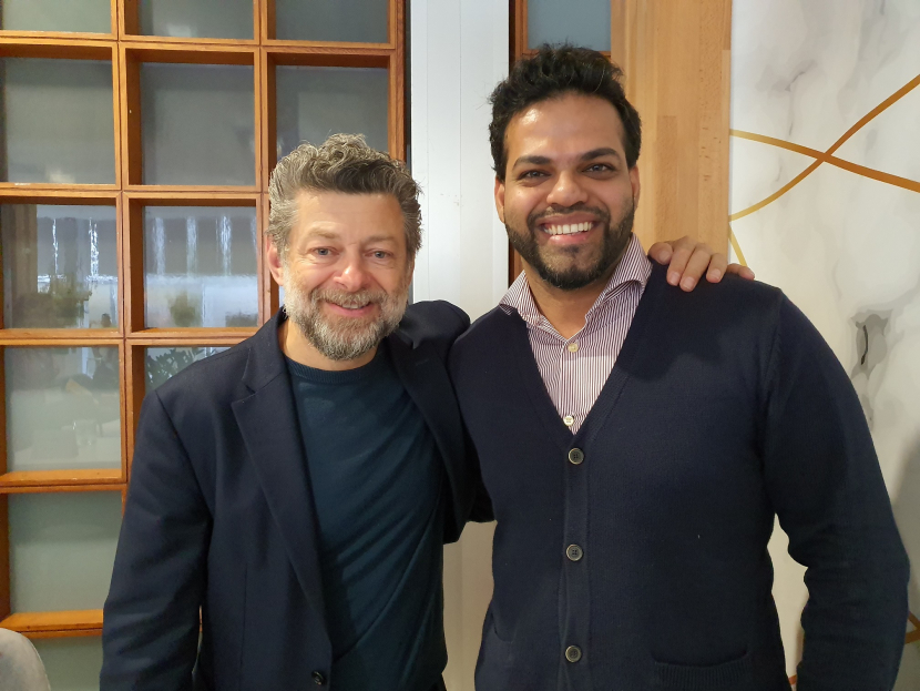 Andy Serkis spoke exclusively to Nikhil Pereira about his MIddle Eastern roots and plans for Dubai at IBC in Amsterdam.