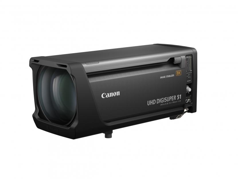 8K lens, Canon lenses, Canon UHDDIGISUPER 51
