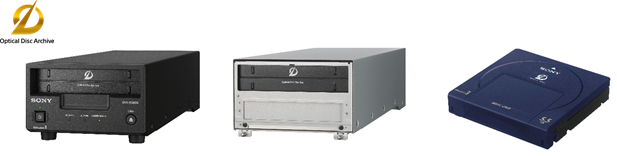 Sony Storage, Storage technology