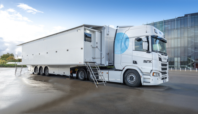 In pictures: NRK's new IP-based OB truck