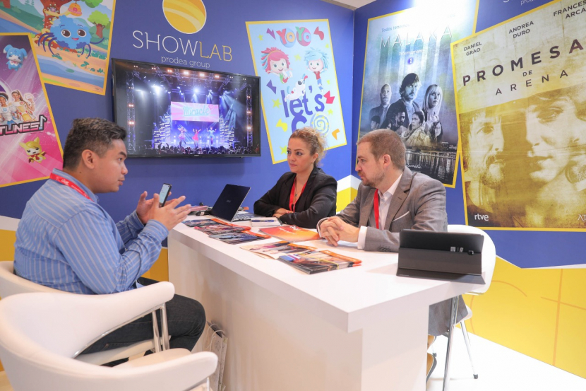 Dubai International Content Market 2019.