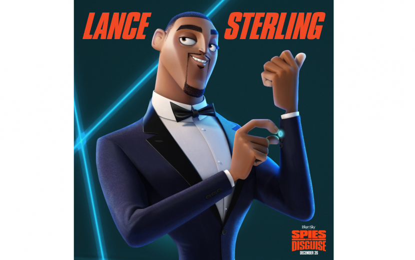Qusai voices the character of Lance Sterling who is played by Will Smith in the original film