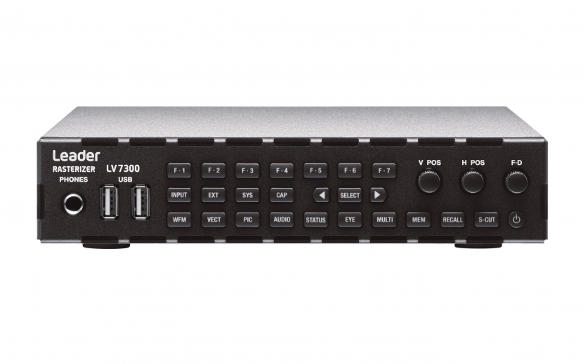 Supplied by Leader distribution partner SetUp Electrónica, the LV7300 will be used to check video and audio signal quality in a studio equipped to support 4K, HD and super slow motion